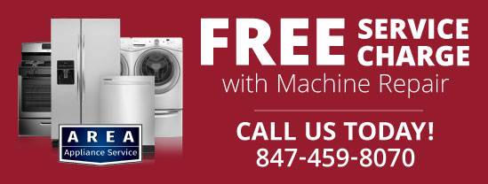 Area Appliance Repair Free Service Charge CTA